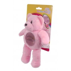 Baby Bottle Buddy - Pink Bear