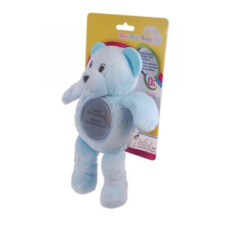 Baby Bottle Buddy - Little Blue Bear