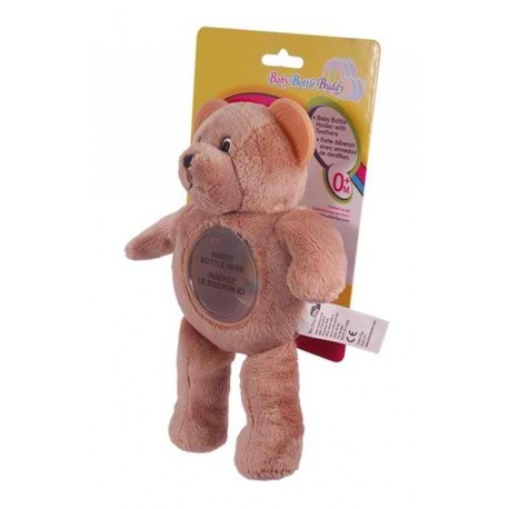 Baby Bottle Buddy - Little Brown Bear