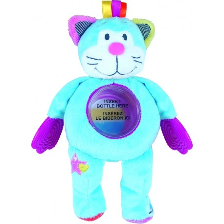 Baby Bottle Buddy - Wacky Friend Cat