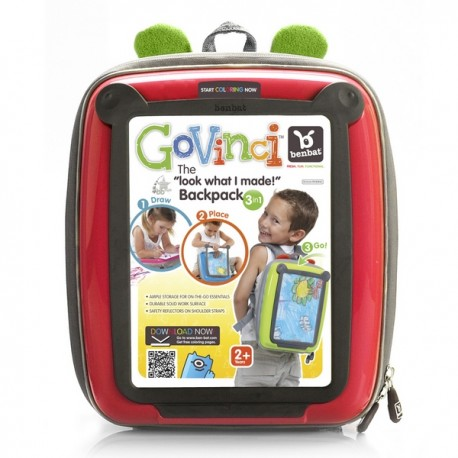 BenBat GoVinci Soft BackPack Red