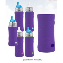 Pura Kiki® Silicone Sleeves - Tall - Grape