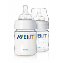 AVENT Classic 4 oz Cloudy (2 Bottle Pack)
