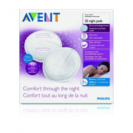 AVENT Disposable Night Breast Pads (20 pads)