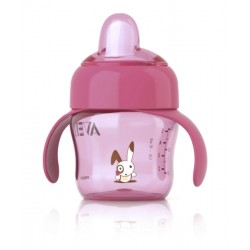 AVENT Trainer Spout Cup 6m+ - Pink
