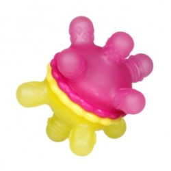 Munchkin Twisty Teether Ball - Pink Yellow