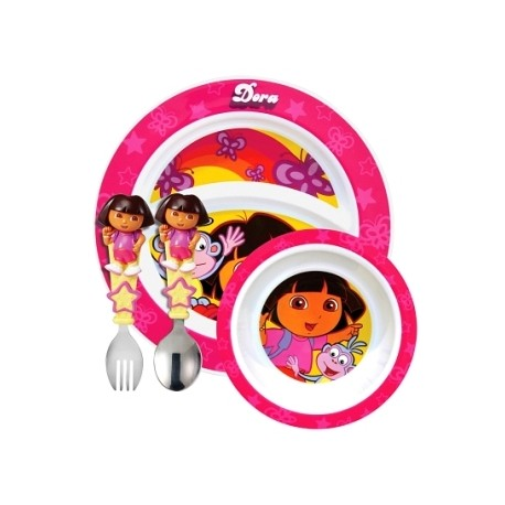 Munchkin Dora the Explorer Toddler Dining Set