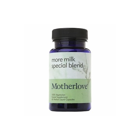 Motherlove More Milk Special Blend  60 Caps