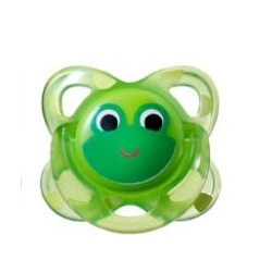 Tommee Tippee - Closer To Nature Fun Silicone Soother 3-9 months - Frog