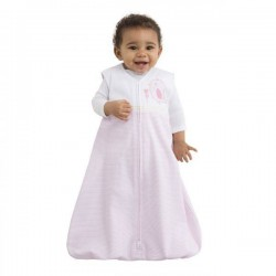 HALO® SleepSack® Cotton Applique Pink Stripe - Medium