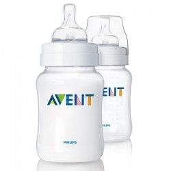 AVENT Classic 9 oz Cloudy (2 Bottle Pack)