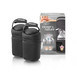 Tommee Tippee Closer To Nature Insulated Bottle Bags (2 Bags)