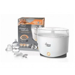 Tommee Tippee Closer to Nature Steam Sterilizer with Bottle