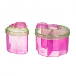 Munchkin Powdered Formula Dispenser Combo Pack - Pink