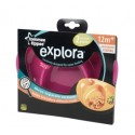 Explora Section Plates Twin Pack - Pink