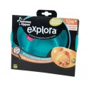 Explora Section Plates Twin Pack - Blue