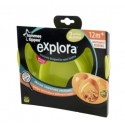 Explora Section Plates Twin Pack - Green