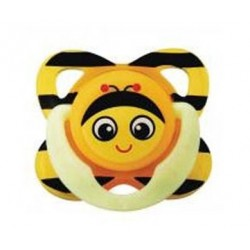 Tommee Tippee - Closer To Nature Fun Silicone Soother 0-3 months - Bee