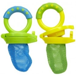 Munchkin Fresh Food Feeder, 2 Pack - Green / Blue