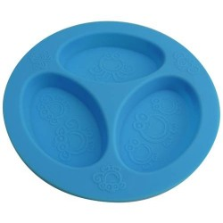 Oogaa Divided Plates - Blue