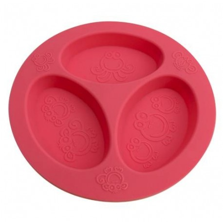 Oogaa Divided Plates - Pink