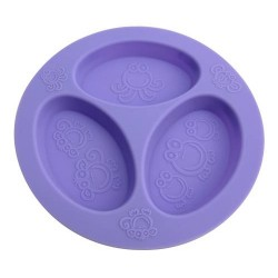 Oogaa Divided Plates - Purple