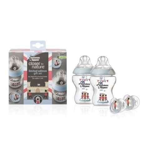 Tommee Tippee Closer To Nature Royal Baby Gift Pack - Prince