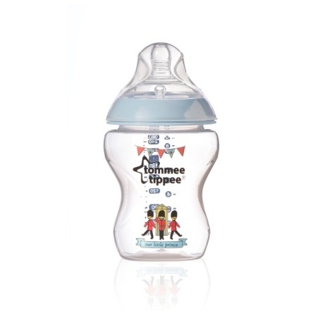 Tommee Tippee Closer To Nature Royal 260ml Bottle - Prince