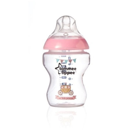 Tommee Tippee Closer To Nature Royal 260ml Bottle - Princess
