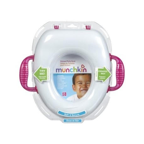 Munchkin Deluxe Potty Seat - Pink