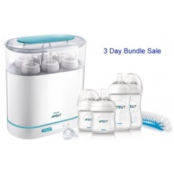Bundle 1: Avent Sterilizer + Avent Natural Starter Set