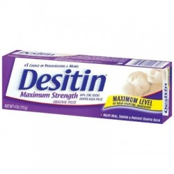 DESITIN Maximum Strength Original Diaper Rash Paste, 4 Oz