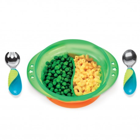 Munchkin Suction Bowl Feeding Set