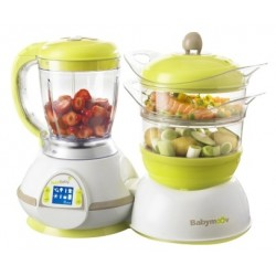 Babymoov Nutribaby Zen Steamer and Blender for Homemade Baby Food