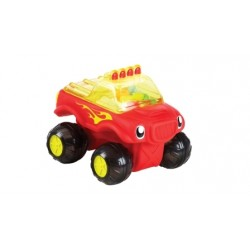 Munchkin Bath Fun Monster Truck - Red
