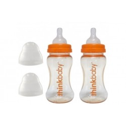 Thinkbaby 9oz Stage A Feeding Bottle (2 Bottle Pack)