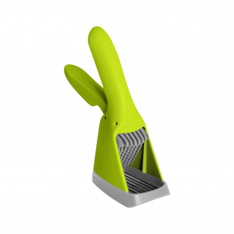 Boon Slicer Hand-Held Fruit and Vegetable Slicer, Green