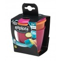 Tommee Tippee Explora Pop Up Weaning Pot  - Pink