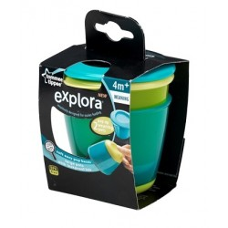 Tommee Tippee Explora Pop Up Weaning Pot  - Blue