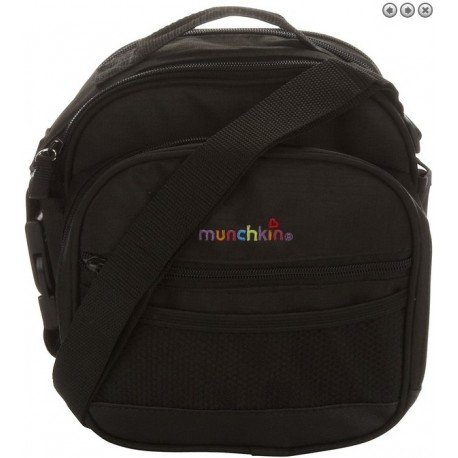 Munchkin Baby-on-the-Go Bag - Black