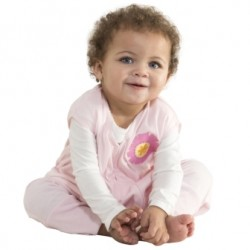 HALO® SleepSack® Early Walker Lightweight Knit Sleepwear Pink Flower - Extra Large