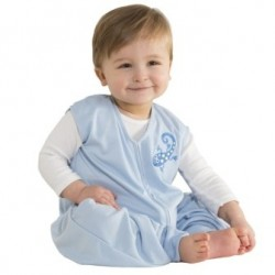 HALO SleepSack Early Walker Lightweight Knit Sleepwear Blue Gecko - Extra Large