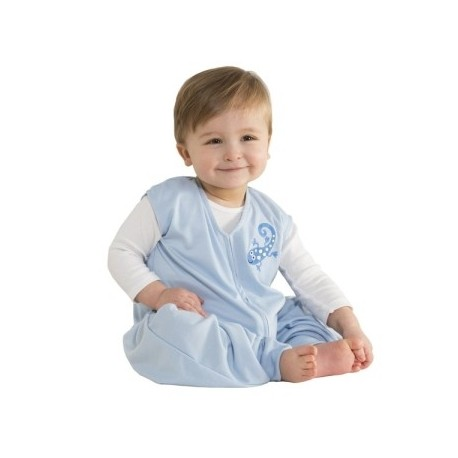 HALO® SleepSack® Early Walker Lightweight Knit Sleepwear Blue Gecko - Extra Large