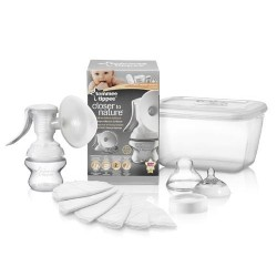 Tommee Tippee Closer to Nature Manual Breast Pump Starter Kit