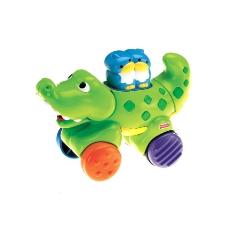 Fisher Price Press and Go Choo Choo Toy, Crocodile