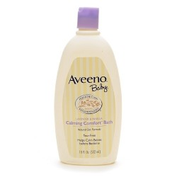 Aveeno Baby Calming Comfort™ Bath 18 fl oz or 532 mL, Lavender & Vanilla
