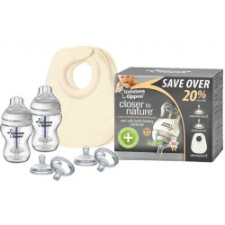 Tommee Tippee Close to Nature Anti-Colic Bottle Feeding Starter Kit