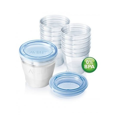 Philips Avent Via Milk & Food Containers 10pc