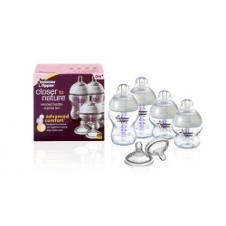 Tommee Tippee Closer to Nature Advanced Comfort Bottle Starter Kit