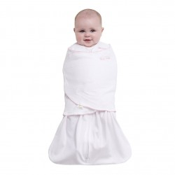 HALO® SleepSack® Swaddle Cotton Pin Dot Pink - Small